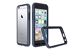 RhinoShield Bumper Case FOR IPHONE 6 / IPHONE 6s [NOT Plus] [CrashGuard] | Shock Absorbent Slim Design Protective Cover [3.5 M / 11ft Drop Protection] - Dark blue