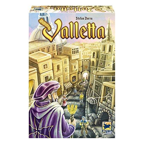 Schmidt Spiele Hans im Glück 48272 - Valletta, Legespiel (Die Bauherren Brettspiel)