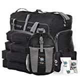 Lightweight Family Travel Set-Black Packing Cube