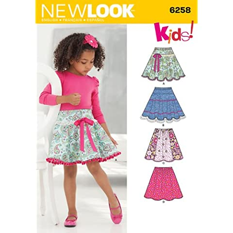 New Look Sewing Pattern 6258 - Child's