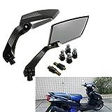AUDEW Universal Motorrad Roller Rückspiegel Spiegel 8m 10mm für Honda