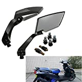 AUDEW Universal Motorrad Roller Rückspiegel Spiegel 8m 10mm...