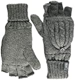 Heat Holders - Women's Thermal Converter FINGERLESS Cable Knit 2.3 tog Gloves