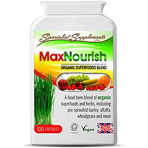 Max Nourish Capsules SuperFoods: Natural Herbal MultiVitamin