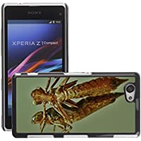 Case Carcasa Case Funda Case La // M00126434 Abhijit larvale Shell Dragonfly // Sony Xperia Z1 Compact D5503