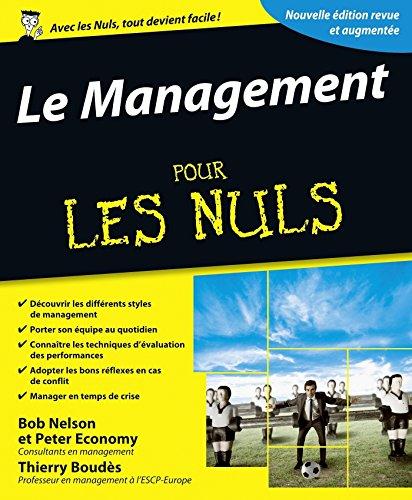 Le Management Pour les Nuls, 3e par Thierry BOUDÈS