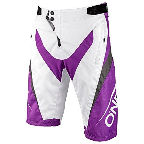 O'Neal Element FR Shorts Blocker MTB Hose Kurz Fahrrad Mountain Bike Sport DH Downhill, 1078, Farbe Lila, Größe 32