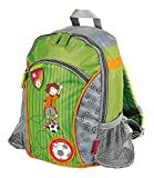 sigikid 23769 enfant garçon, sac à dos vert/gris, 'Kily Keeper'