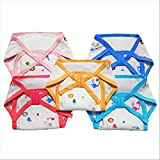 #4: Littly Cushioned Cotton Nappies Combo, Pack of 5