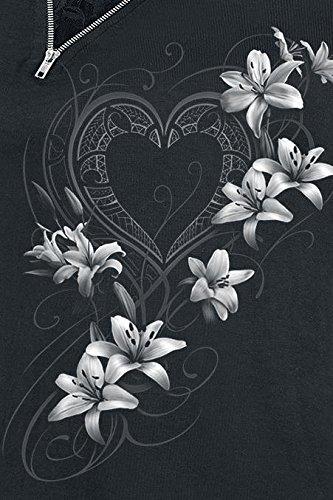 Spiral Pure Of Heart Girl-Longsleeve schwarz Schwarz