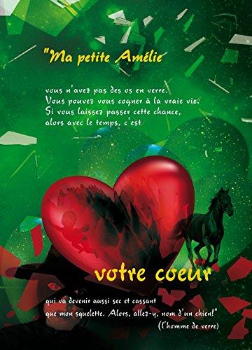 Preisvergleich Produktbild 1art1 102350 Die Fabelhafte Welt der Amelie - Ihr Herz,  2-Teilig Selbstklebende Fototapete Poster-Tapete 250 x 180 cm