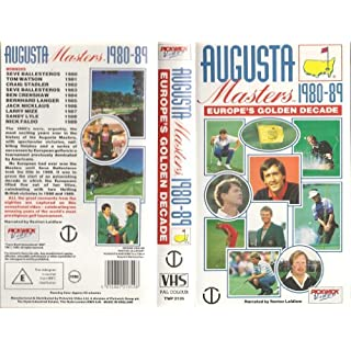 Augusta Masters 1980/89 [VHS]