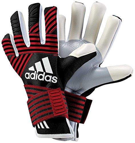 Ace-baumwolle Handschuhe (adidas Erwachsene Ace Trans Pro MN Torwarthandschuhe, Black/Fcb True Red, 9.5)