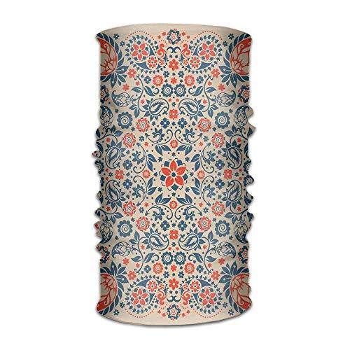 RAINNY Womans Mens Turban Arabesque Floral Ornate Pattern Cultural Folk Persian Middle Eastern Print Campus Kerchief Apple-print-leggings