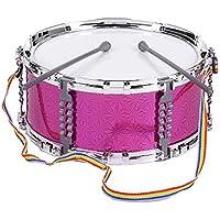 ammoon Vistoso Jazz del Tambor de Trampa Instrumento Musical de Percusión de Juguete Palillos del Tambor con la Correa para Niños Kids