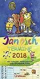 Janosch Familientermine 2018 - Familienkalender, 5 Spalten, Terminplaner, Kalender für Kinder, mit Stundenplan - 23 x 48 cm bei Amazon kaufen