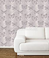 Arthouse Enchantment Wallpaper Midsummer Heather 661204 Full Roll by Arthouse