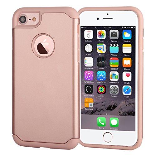 iPhone 7P Móvil, L de Tiger Carcasa Case 2in1PC + Silicona Hybr