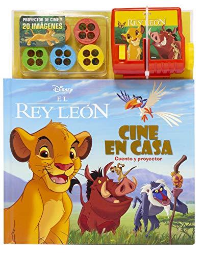 El Rey León. Cine en casa: Cuento y proyector (Disney....