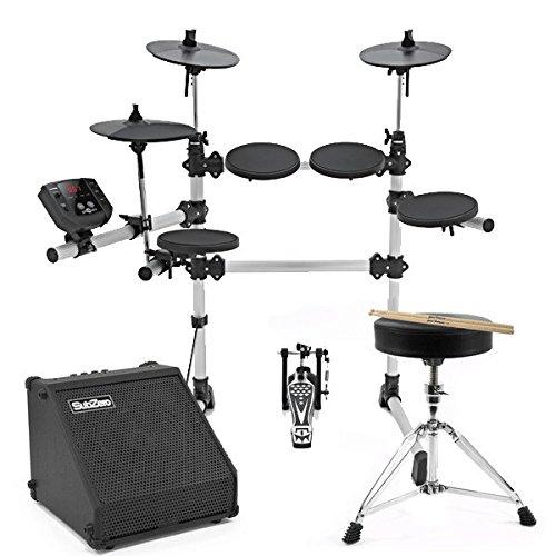 Digital Drums 420 Elektronisches Schlagzeug für Anfänger - im Paket mit Verstärker