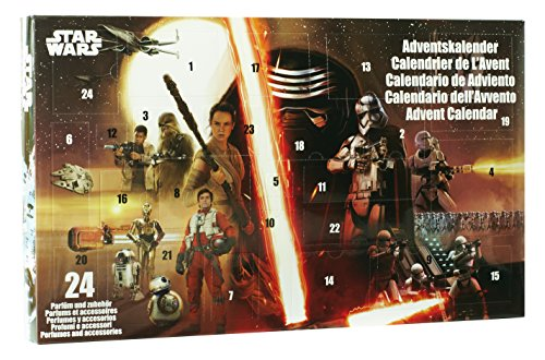 Star Wars Calendrier de l'Avent 2016 Parfums et Objets de Collection