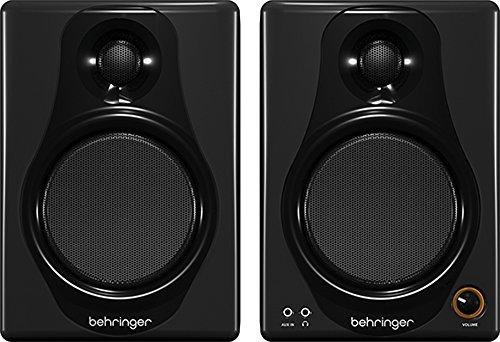 Behringer MEDIA 40USB 40W Bi-Amped Digital Monitor Kopfhörer mit USB Geschirmt Desktop-lautsprecher