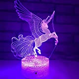 LL Einhorn Lichter Exotische Produkte 3D-nachtlicht USB-Lichter