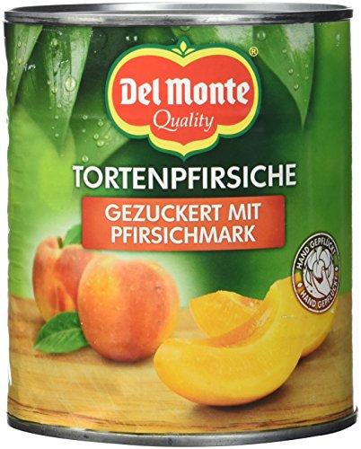 Del Monte Pfirsiche Schnitten in Fruchtmark, 6er Pack (6 x 850 ml Dose)