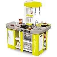 Smoby 311024 - Tefal Cuisine Studio XL - Jeu d'Imitation - Module Electronique - + 36 Accessoires - Pile Incluse - Vert