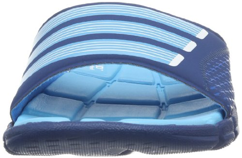 adidas Performance Adipure 360 Slide, Ciabatte da spiaggia/piscina donna Blu (Blau (Tribe Blue S14/Samba Blue S14/Running White Ftw))