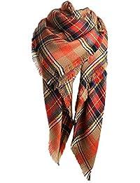 59e5cb68bc0a Malloom® Foulards, Echarpe en coton à manches longues en coton à manches  longues