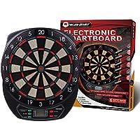 Win.Max Diana electrónica, clásica para 8 Jugadores, 21 Juegos, 65 Variantes, Pantalla LED
