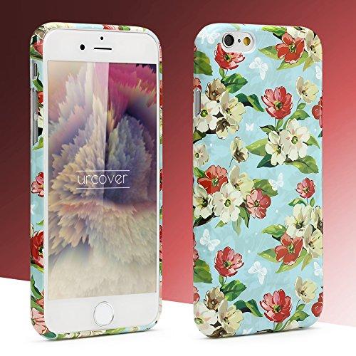 iPhone 6 Plus / 6s Plus Coque, Urcover TPU Silicone Housse Apple iPhone 6 Plus / 6s Plus Protection Étui Fleurs Motif Design 5 Téléphone Femme Smartphone Case Design 11