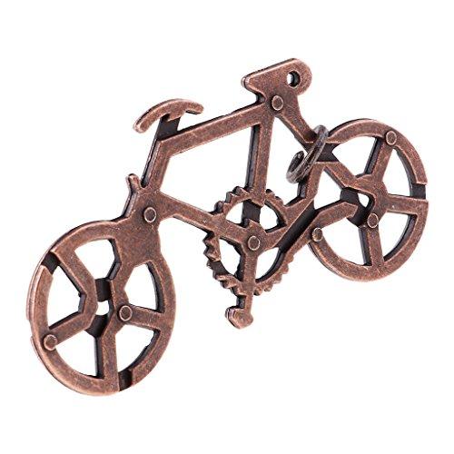 Unbekannt Geduldspiele Fahrradschloss Metallpuzzle Puzzle Geschicklichkeitsspiel Metall Knobel-Spaß