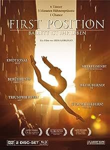 First Position - Ballett ist ihr Leben - Mediabook [2 Disc-Set, DVD + Blu-ray] [Special Edition]