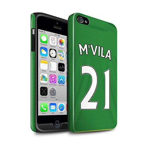 Offiziell Sunderland AFC Hülle / Glanz Harten Stoßfest Case für Apple iPhone 4/4S / Pack 24pcs Muster / SAFC Trikot Away 15/16 Kollektion M'Vila