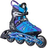 K2 Damen Inline Skates VO2 90 Pro W - Schwarz-Blau-Lila - EU: 37 (US: 7 - UK: 4.5) - 30A0108.1.1.070