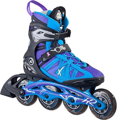 K2 Damen Inline Skate VO2 90 Pro W, mehrfarbig, 7, 30A0108.1.1.070