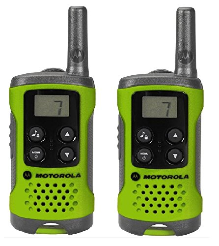 Motorola TLKR-T41 - Walkie-Talkie (AAA, 50 x 134 x 29 mm), Multicolor