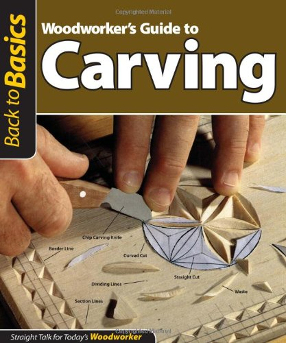 Woodworker's Guide to Carving: Straight Talk for Today's Woodworker (Back to Basics) (Back to Basics (Fox Chapel Publishing))