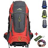 Ticktock Ong 70L Viaje Mochila Trekking Senderismo Excursionismo Alpinismo Escalada Camping...