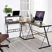 Computer Desk, CozyCasa Writing Desk Modern Simple Study Desk Small Home Office Desk PC Gaming Desk Laptop Not