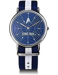 Skylynn--Star Trek Reloj de pulsera Unisexo LED Pantalla táctil Reloj impermeable Regalo de cumpleaños (006)