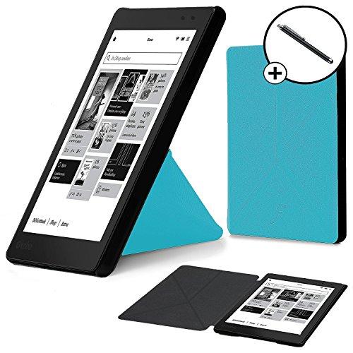 forefront-casesr-kobo-aura-one-lanzado-en-2016-origami-funda-carcasa-stand-smart-case-cover-protecto