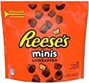 Hershey's Reese's Chocolate Mini Unwrapped Peanut Butter Cups