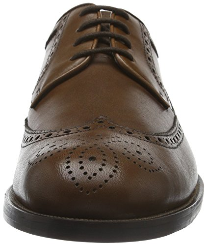 Clarks Coling Limit, Derby Homme Marron (Tan Leather)