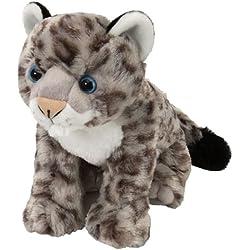 Wild Republic Cuddlekins - Cachorro de leopardo de las nieves de peluche (30cm)