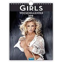 """Sexy Wochenkalender """"GIRLS"""" 2019 als Wandkalender Erotikkalender heiße Frauen"""