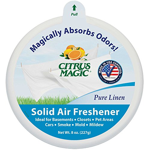 Citrus Magic Fester Gerüche Absorber Reines Leinen, 6 UNIT