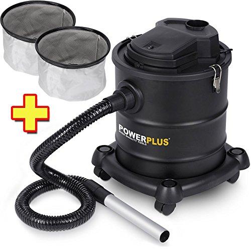 Aschesauger-1200-Watt-20-Liter-POWX308-2-x-Filter-POWX305B